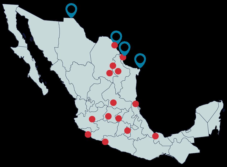 mapa frontera norte 2
