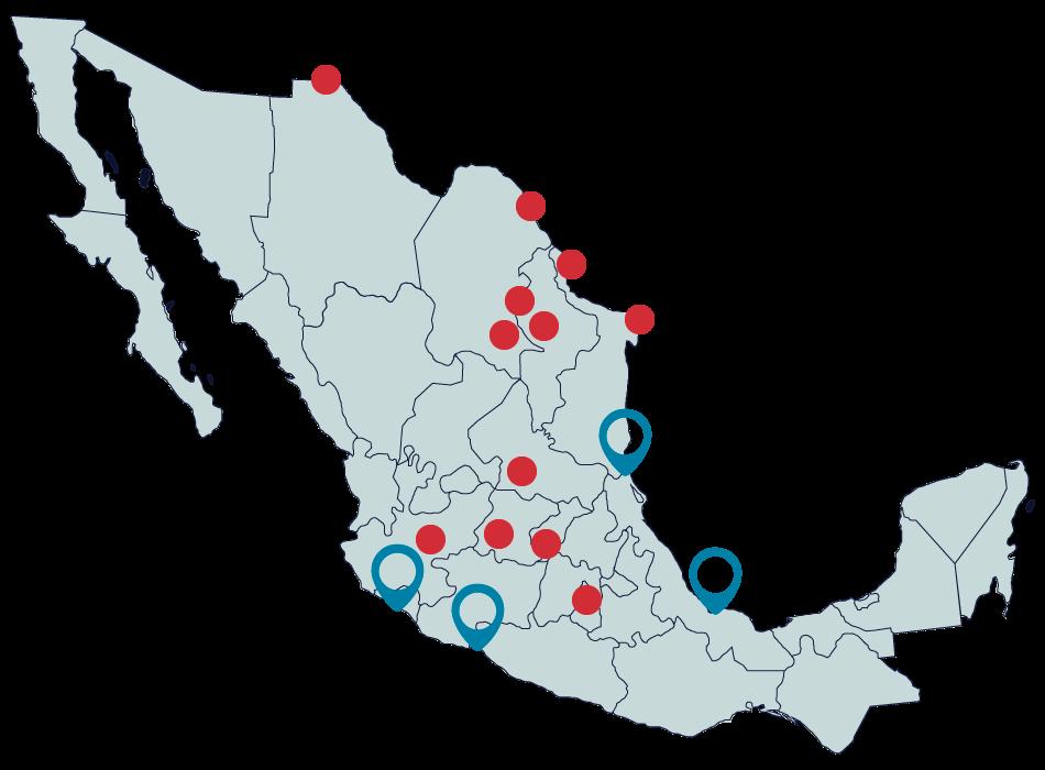 puerto mapa